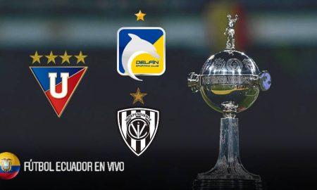 Árbitros designados equipos ecuatorianos en los octavos de Libertadores
