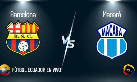 Barcelona vs Macará EN VIVO GOL TV partido por la Liga Pro 2020