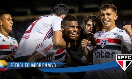 Golazo de Robert Arboleda en victoria de Sao Paulo ante Bahia