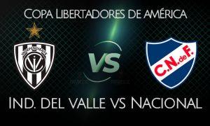 IDV vs Nacional EN VIVO FOX Sports Octavos de Copa Libertadores