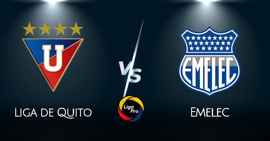 LDU de Quito vs Emelec EN VIVO GOLTV por fecha 8 de la Liga Pro