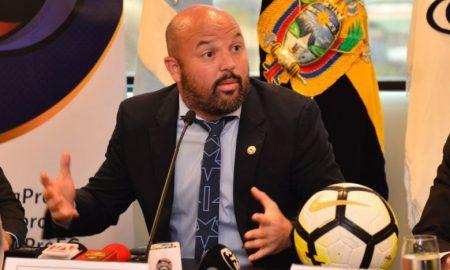 """Miguel Loor """"se quiere retroceder y eso puede significar la quiebra del fútbol ecuatoriano"""""""