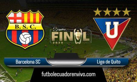 Barcelona vs Liga de Quito EN VIVO FINAL LIGA PRO