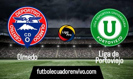 EN VIVO Olmedo vs Liga de Portoviejo por la Liga Pro 2020 desde el estadio Olímpico de Riobamba