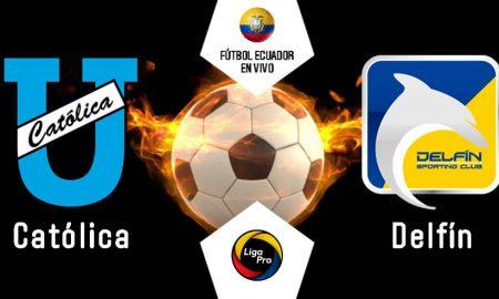 GOL TV EN VIVO U. Católica - Delfín fecha 13 Liga Pro 2020