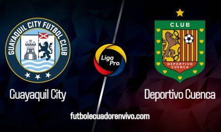 Guayaquil City vs Deportivo Cuenca EN VIVO GOL TV por la Liga Pro 2020