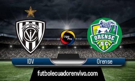 IDV vs Orense GOL TV EN DIRECTO por la Liga Pro 2020
