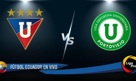 LDU de Quito - Liga de Portoviejo EN VIVO GOL TV SERIE A ECUADOR