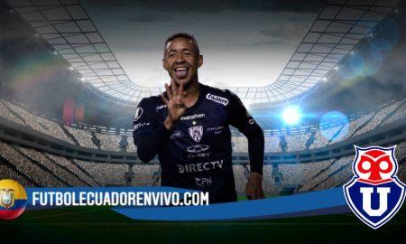 La U de Chile insisten por Gabriel Torres que dejaría Independiente del Valle