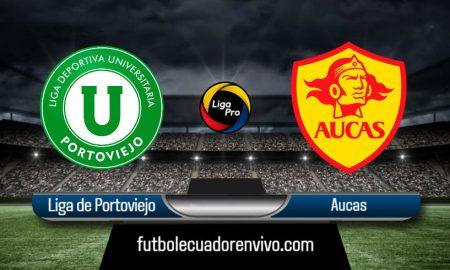 Liga de Portoviejo vs Aucas EN VIVO GOLTV 2020