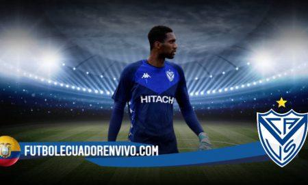 Mauricio Pellegrino lo quiere como titular por mucho tiempo a Alexander Domínguez en Vélez