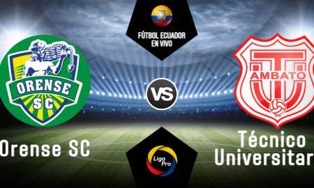 Orense vs Técnico Universitario EN VIVO GOL TV por la Liga Pro