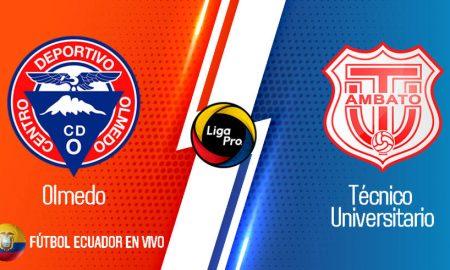VER EN VIVO Olmedo vs Técnico Universitario partido GOL TV de la LIGA PRO