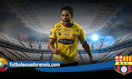 Alfaro Moreno comento sobre el futuro Matías Oyola en Barcelona SC