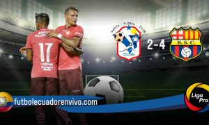 Barcelona SC remonta a Manta FC en su primer partido de pretemporada (VIDEO)