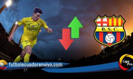 Fernando Gaibor cerca de llegar a Barcelona SC para la temporada 2021