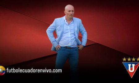 Pablo Repetto DT de Liga de Quito confiesa que le duele el haber perdido las finales