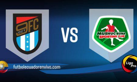 9 de Octubre vs Mushuc Runa EN VIVO GOL TV partido Liga Pro 2021