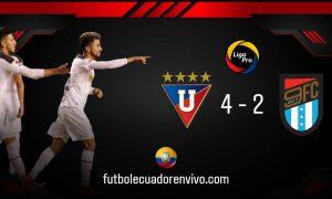 El Rey de Copas de Ecuador arrancó con victoria ante 9 de Octubre