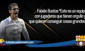 Fabián Bustos destacó a su plantel de BSC tras la gran remontada ante Manta FC