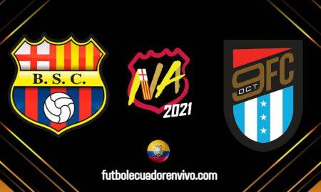 GOL TV EN VIVO Noche Amarilla 2021 Barcelona SC vs 9 de Octubre