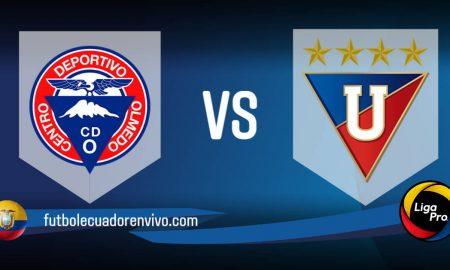 Liga de Quito vs Olmedo EN VIVO GOL TV PARTIDO por la fecha 2 LigaPro