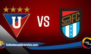 VER EN VIVO Liga de Quito vs 9 de Octubre GOL TV partido Liga Pro