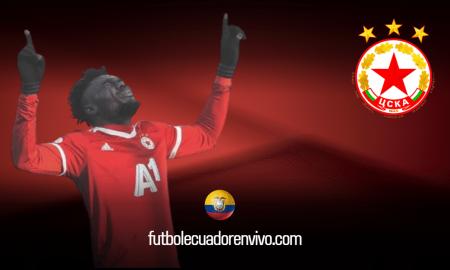 Hat-trick de Jordy Caicedo en clasificación del CSKA Sofía (VIDEO)