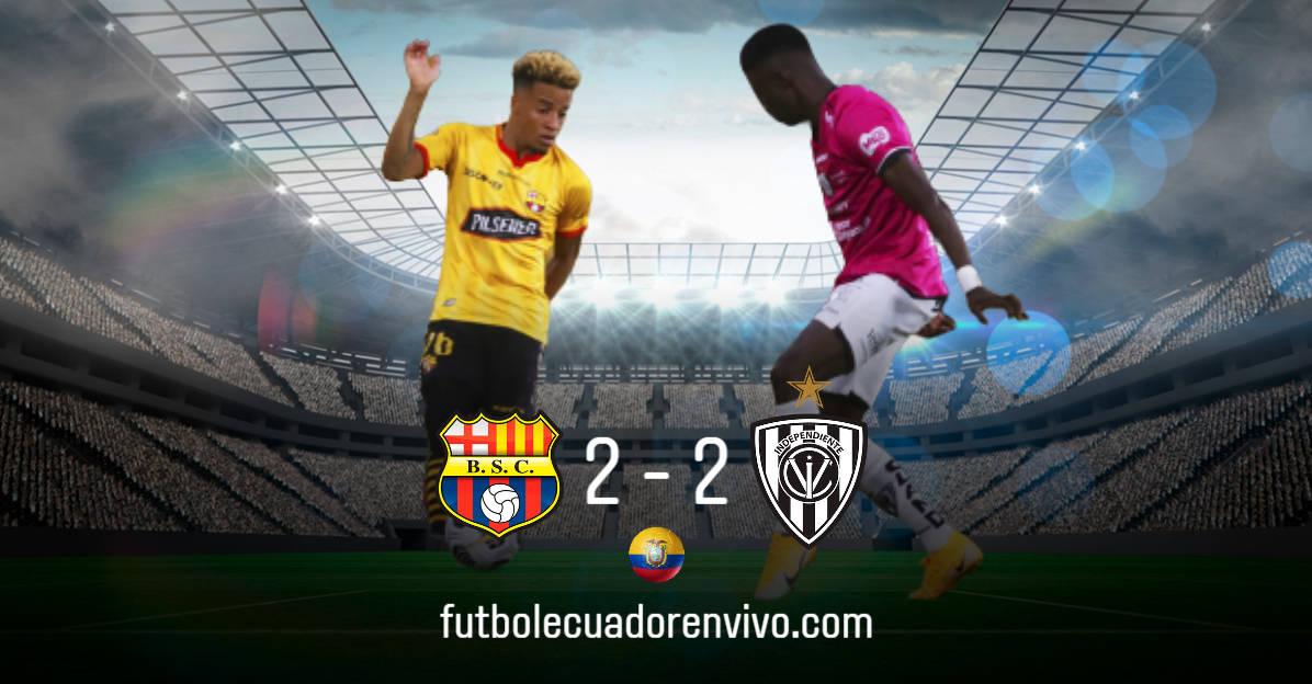 Barcelona SC logró rescatar un empate ante IDV en el Monumental