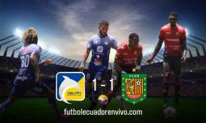 Deportivo Cuenca logró rescatar un punto ante Delfín