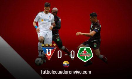 El REY de Copas del Ecuador igualó de local ante Mushuc Runa