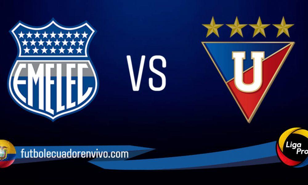 Emelec vs LDU de Quito EN VIVO por la Serie A de Ecuador