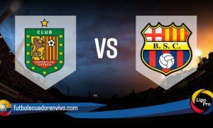 VER EN VIVO Deportivo Cuenca - Barcelona SC GOL TV Canal de TV por la fecha 7 de la LigaPro