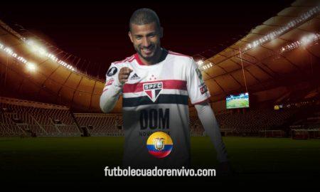 Nuevo GOL de Joao Rojas en la Copa Libertadores en el triunfo de Sao Paulo (VIDEO)
