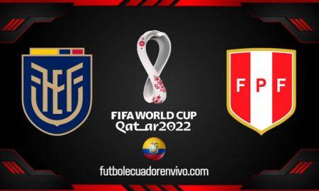 Ecuador vs Perú EN VIVO en directo por TV, online la fecha 8 de las Eliminatorias
