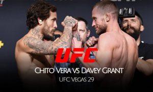 VER UFC 'Chito' Vera vs Davey Grant EN VIVO ESPN PELEA por la UFC todos los detalles para la pelea